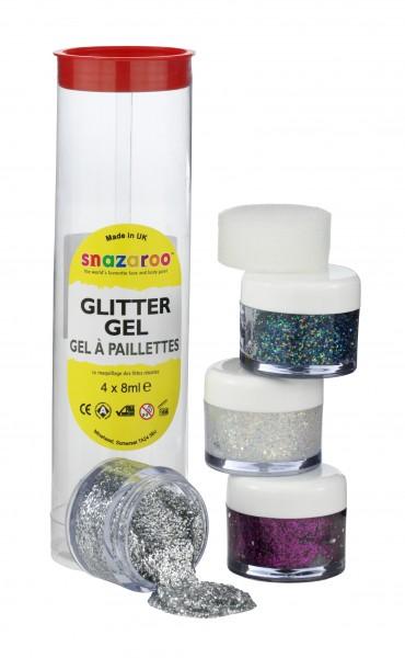 Snazaroo Glittergel Set A