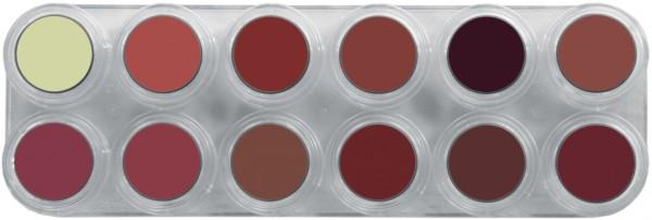 Grimas Lipstick Pure LB Palette - 12 x 2,5ml