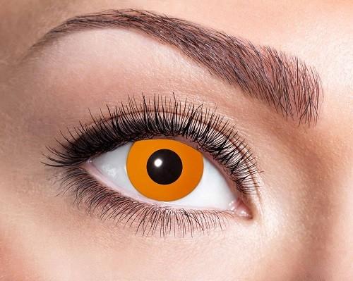 Eyecatcher Fantasy 12 Monatslinsen Halloween Orange