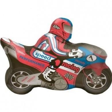 Mini Folienballon Motorrad Moped - 35cm