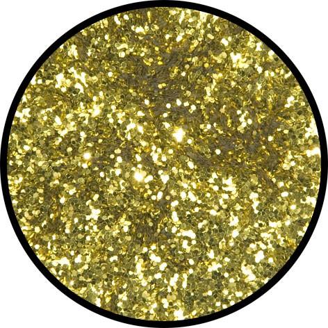 6 g Eulenspiegel Polyester Streu Glitzer Inkagold