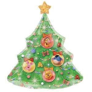 Winnie Pooh Weihnachtsbaum Folienballon