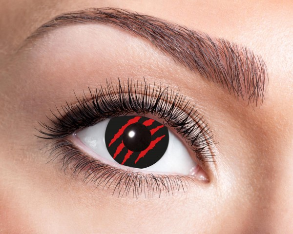 Eyecatcher Fantasy 12 Monatslinsen Red scratch