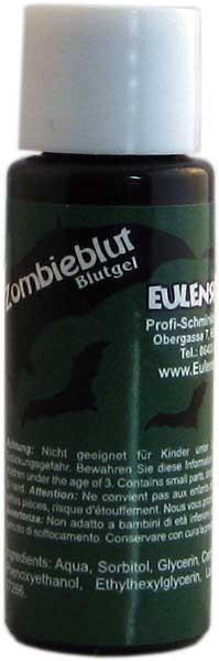 Eulenspiegel Zombieblut Dunkelgrün 20 ml