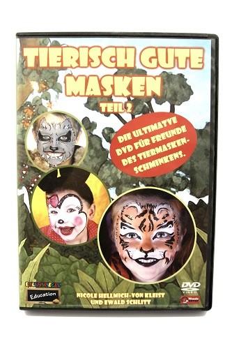 """DVD """"Tierisch gute Masken"""" Teil 2"""