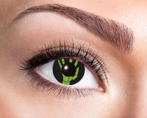 Eyecatcher Fantasy 12 Monatslinsen Green Hand