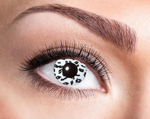 Eyecatcher Fantasy 12 Monatslinsen White Leopard