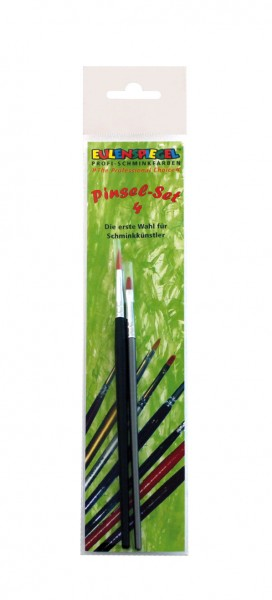 Eulenspiegel Profi Pinsel Set 4