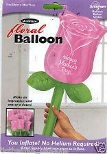 Rose Happy Valentine`s Day Folienballon