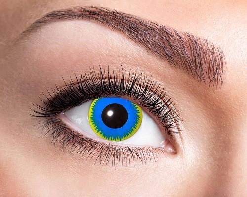 Eyecatcher Fantasy 3 Monatslinsen Sun Blue