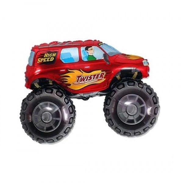 Mini Folienballon Monster Truck - 35cm