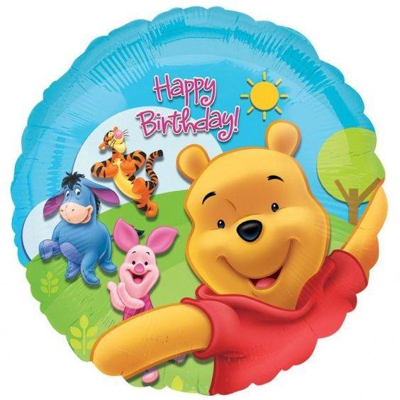 Winnie the Pooh & Friends Folienballon - 45 cm