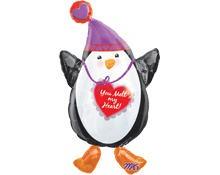 Pinguin mit Herz / Liebe Folienballon