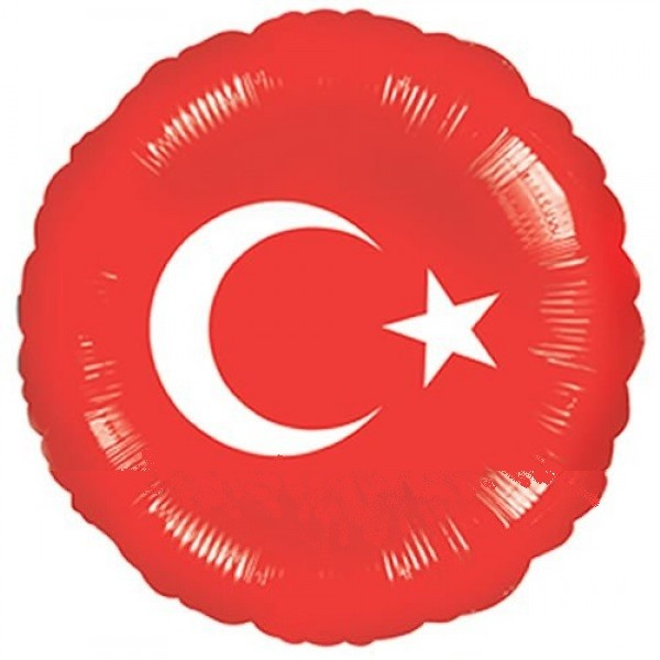 Türkische Flagge - 45cm