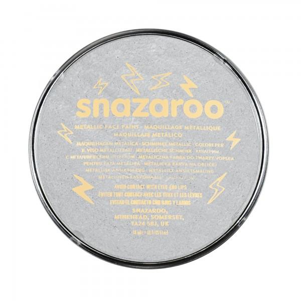 Snazaroo Schminkfarbe Metallic Silber 18 ml