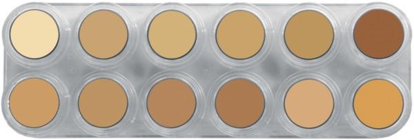 Grimas Crème Make-up Pure Palette V - 12 x 2,5 ml