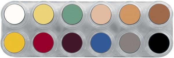 Grimas Crème Make-up Pure Palette L - 12 x 2,5 ml