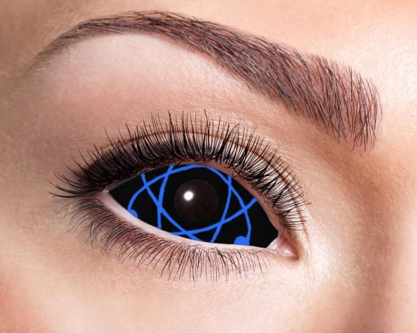 Eyecatcher Sclera 6 Monatslinsen Blue Atomic