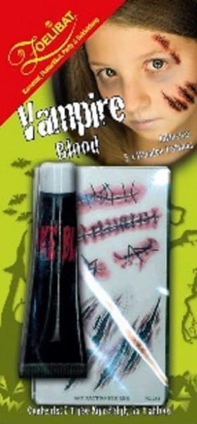 Zoelibat Vampirblut mit Wundentattoos