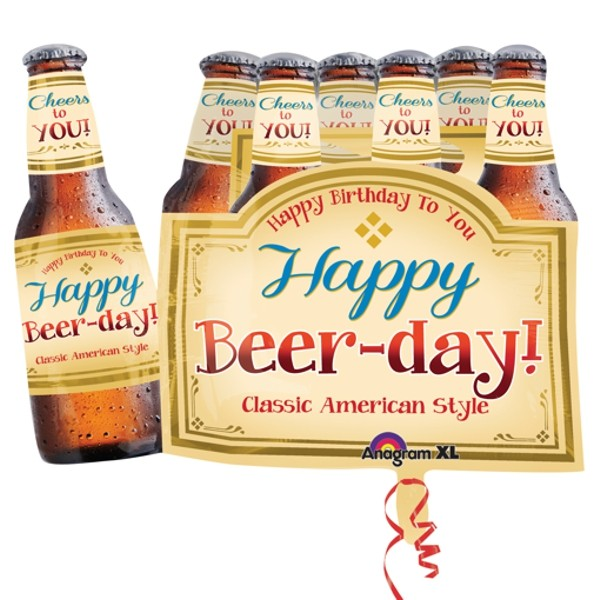 Happy Beer Day Folienballon - 64cm