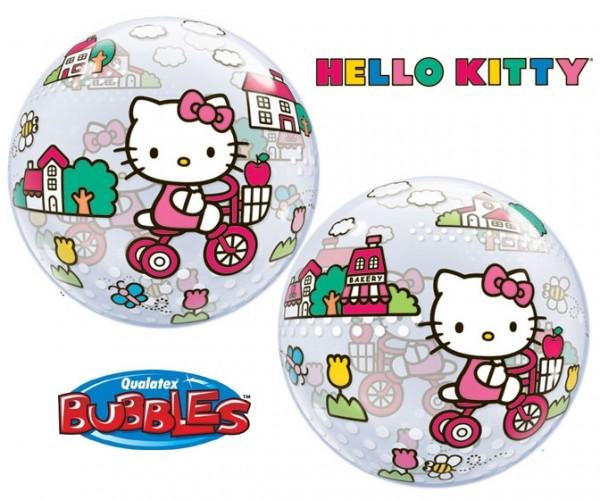 "Qualatex Bubble Hello Kitty 22"" 56cm Luftballon"
