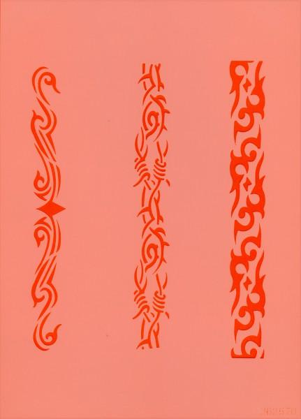 Airbrush Schablone Stripes V Eulenspiegel
