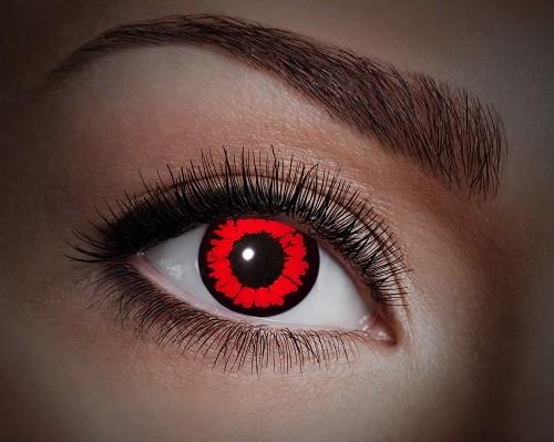Eyecatcher UV 12 Monatslinsen Red Animal
