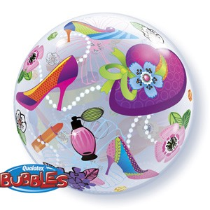 Qualatex Bubble Luftballons Shopping Spree