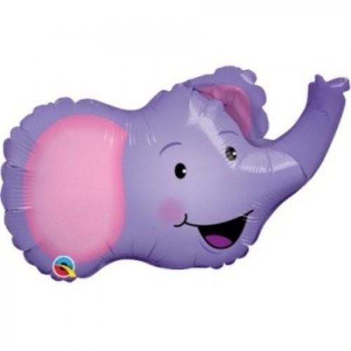 Mini Folienballon Elefant - 35cm