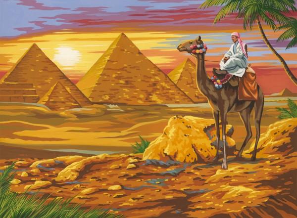 Reeves Malen nach Zahlen Ägyptische Wüste