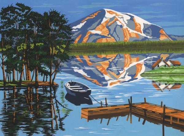Reeves Malen nach Zahlen Bergsee