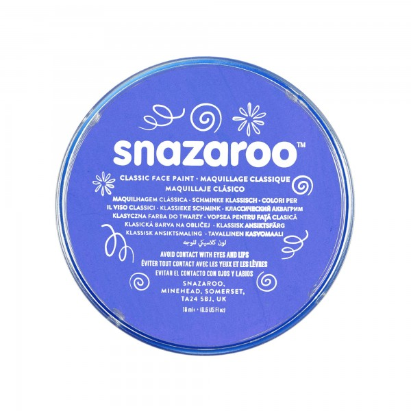 Snazaroo Schminkfarbe Himmelblau 75 ml