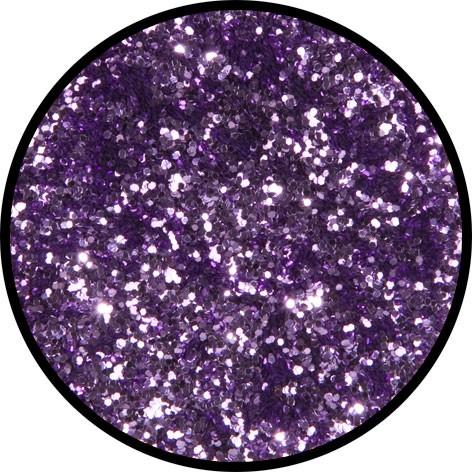 12 g Eulenspiegel Polyester Streu Glitzer Lavendel