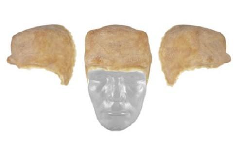 Grimas Latex Nasen / Sets 402 Frankenstein Stirn