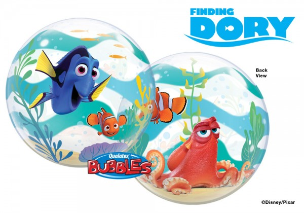 Qualatex Bubble Luftballons Finding Dory