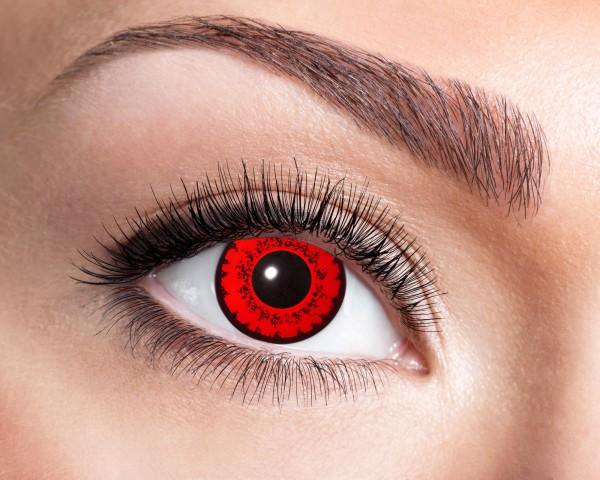 Eyecatcher Fantasy 12 Monatslinsen Red Fever