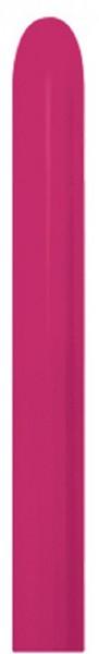 Sempertex Raspberry 014 260S Nozzle up Modellierballons