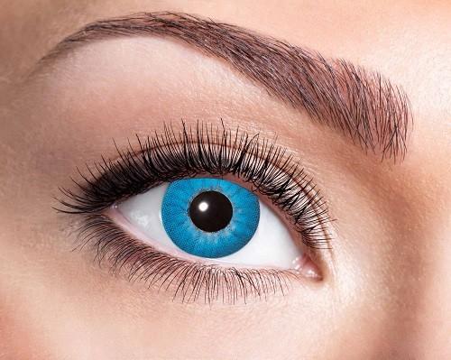 Eyecatcher Fantasy 12 Monatslinsen Electro Blue