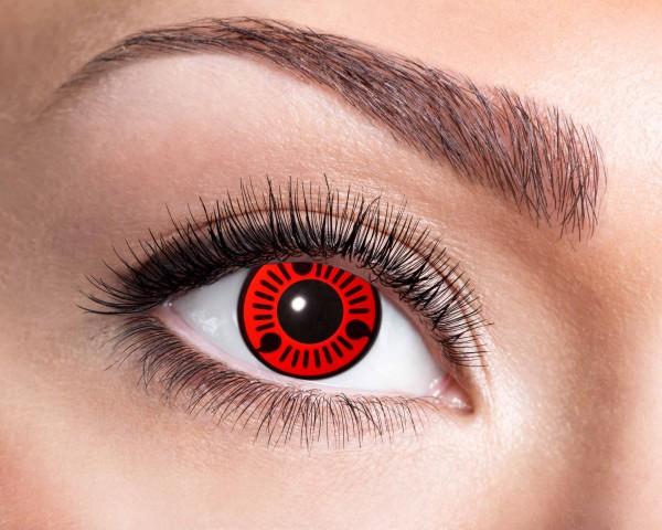 Eyecatcher Fantasy 12 Monatslinsen Red Itachi