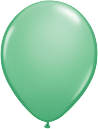 MiniLuftballons in Fashion Wintergreen (Wintergrün) - 12,5cm