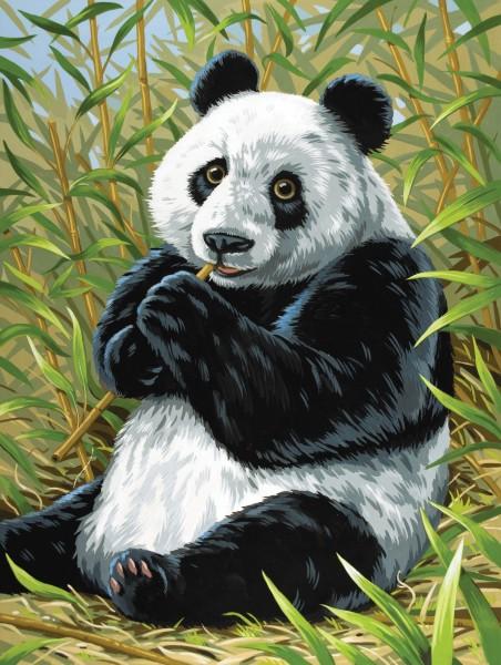 Reeves Malen nach Zahlen Junior Panda