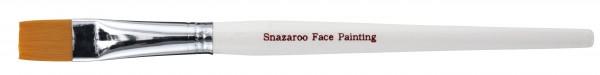 Snazaroo Pinsel groß, flach Weiß
