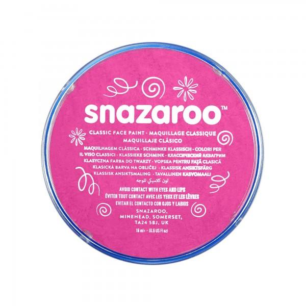 Snazaroo Schminkfarbe Leuchtendrosa 18 ml