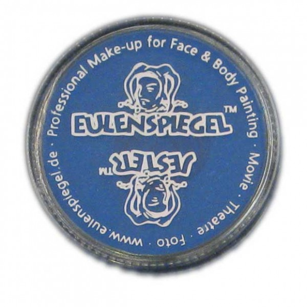 Eulenspiegel Creme Schminke Blau 12 ml