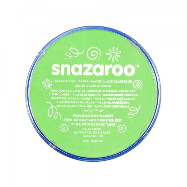 Snazaroo Schminkfarbe Limettengrün 18 ml