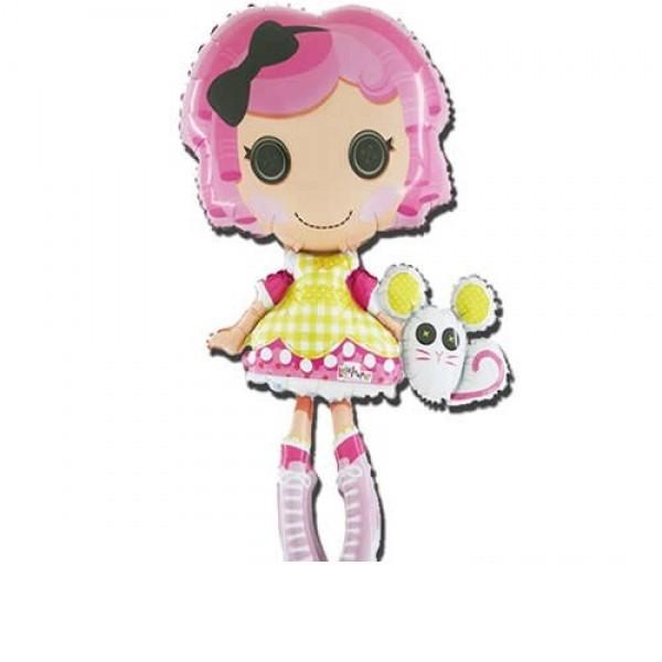 Lala Loopsy Puppe Folienballon - 76cm