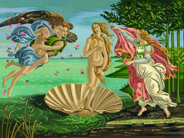 Reeves Artist Collection Malen nach Zahlen Auferstehung der Venus