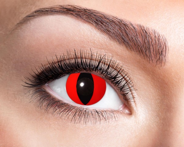 Eyecatcher Fantasy 3 Monatslinsen Red Cat