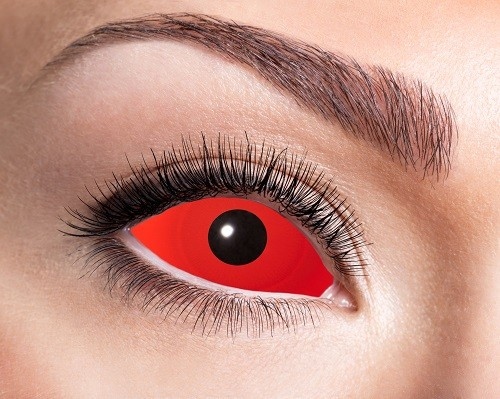 Eyecatcher Sclera 6 Monatslinsen Full Red Eye