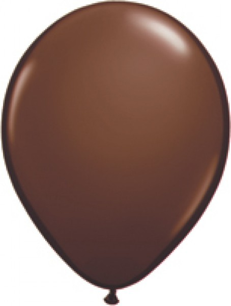MiniLuftballons in Fashion Chocolate brown (Braun) - 12,5cm